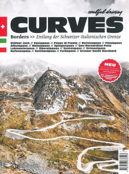 CURVES #2 · Borders #2# Entlang der Schweizer-Italienischen Grenze