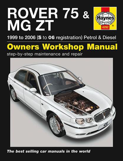 Rover 75 & MG ZT #2# Haynes Owners Workshop Manual · Reparaturanleitung