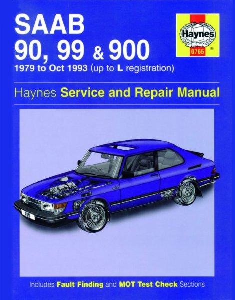 Saab 90, 99 & 900 / Turbo · 1979-1993 — Haynes Service & Repair Manual · Reparaturanleitung