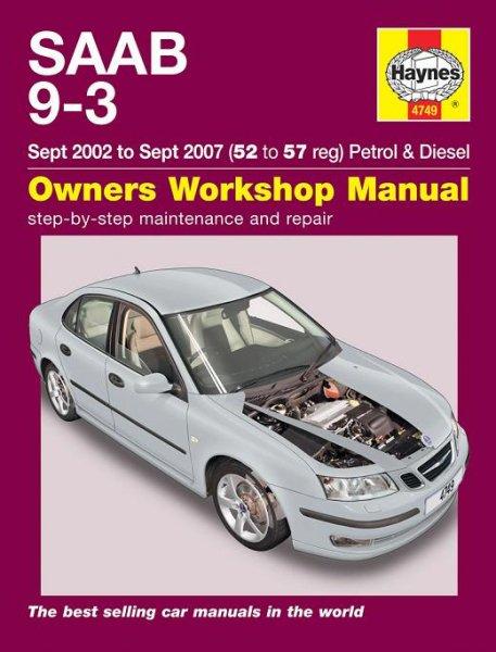 Saab 9-3 · 2002-2007 #2# Haynes Owners Workshop Manual · Reparaturanleitung
