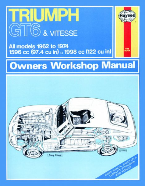 Triumph GT6 & Vitesse #2# Haynes Owners Workshop Manual · Reparaturanleitung