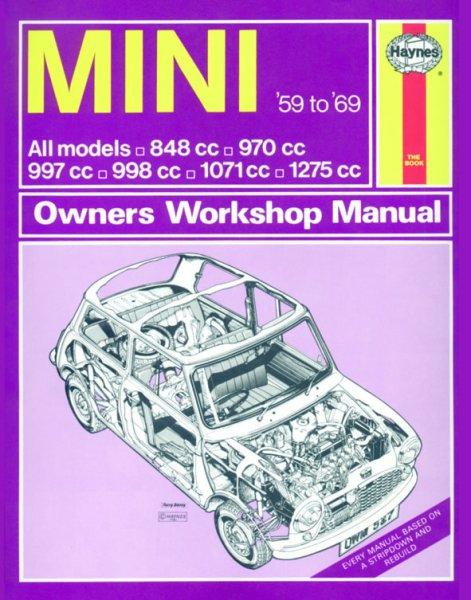 Mini · 1959-1969 — Haynes Owners Workshop Manual · Reparaturanleitung