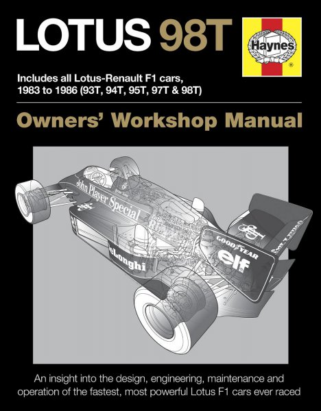 Lotus 98T · 1983-1986 (incl. 93T, 94T, 95T & 97T) #2# Owners' Workshop Manual