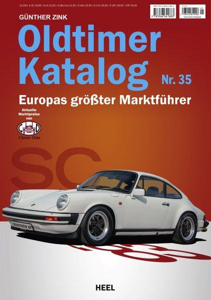 Oldtimer-Katalog Nr. 35 (2021) #2# Aktuelle Marktpreise von Classic Data