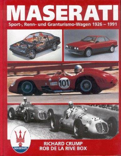 Maserati #2# Sport-, Renn- und Granturismo-Wagen 1926-1991