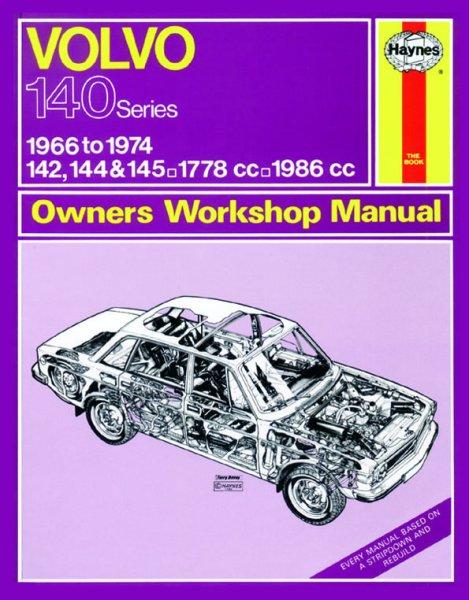 Volvo 140 Series (142 144 145) 1966-1974 #2# Haynes Owners Workshop Manual · Reparaturanleitung