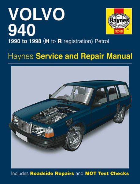 Volvo 940 · 1990-1998 #2# Haynes Service & Repair Manual · Reparaturanleitung