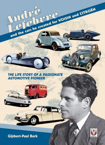 André Lefebvre — and the cars he created for Voisin and Citroen