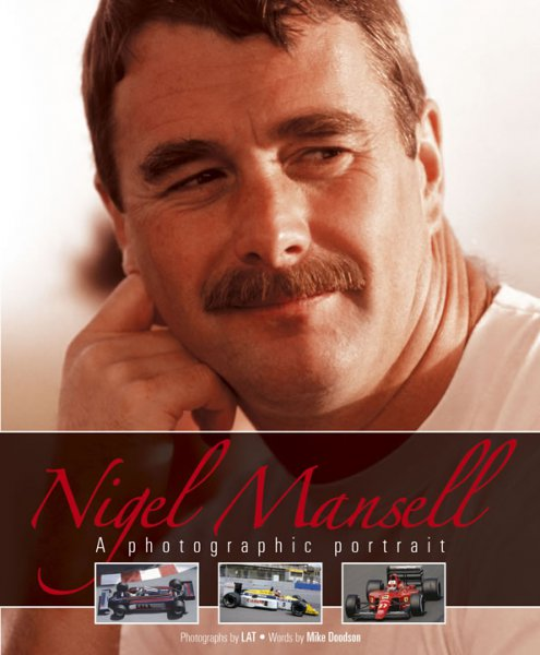 Nigel Mansell #2# A photographic portrait