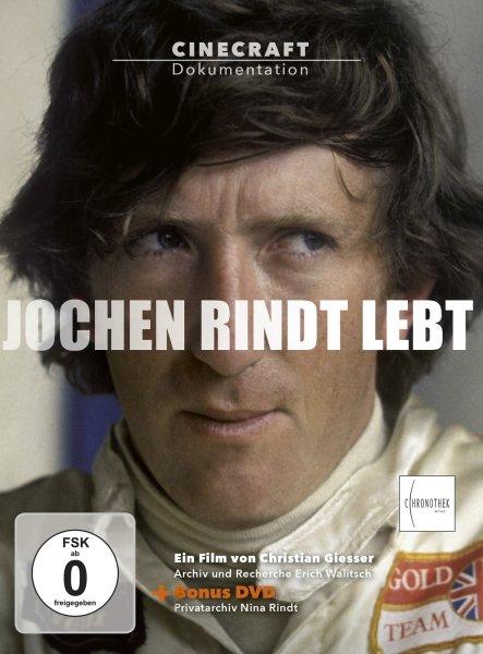 Jochen Rindt lebt — inkl. Bonus-DVD mit Archivmaterial von Nina Rindt