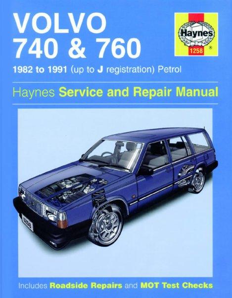 Volvo 740 & 760 · 1982-1991 — Haynes Service & Repair Manual · Reparaturanleitung