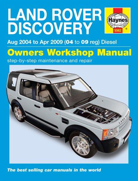 Land Rover Discovery (Diesel) 2004-2009 #2# Haynes Owners Workshop Manual · Reparaturanleitung