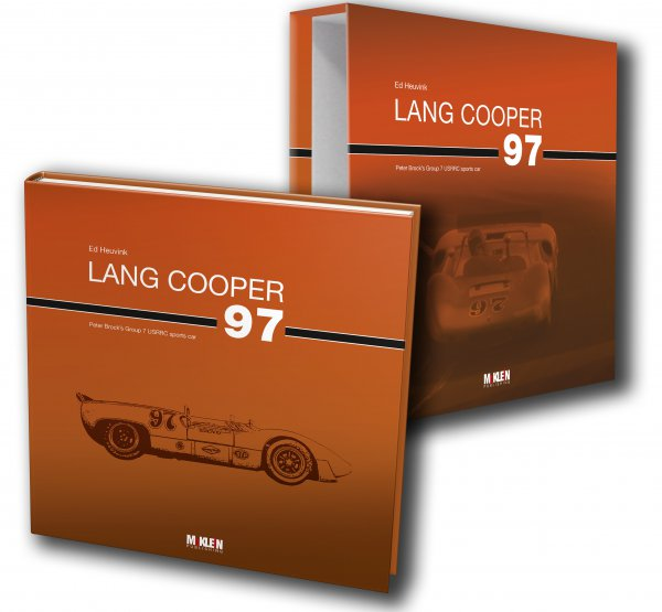 Lang Cooper 97 #2# Peter Brock's Group 7 USRRC sports car