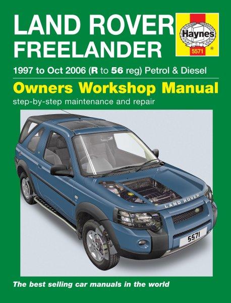 Land Rover Freelander · 1997-2006 #2# Haynes Owners Workshop Manual · Reparaturanleitung