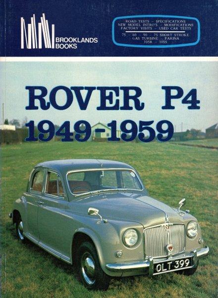 Rover P4 · 1949-1959 #2# Brooklands Portfolio