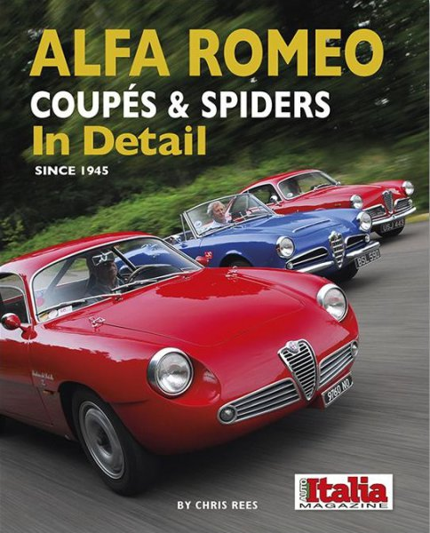 Alfa Romeo Coupés & Spiders In Detail #2# since 1945