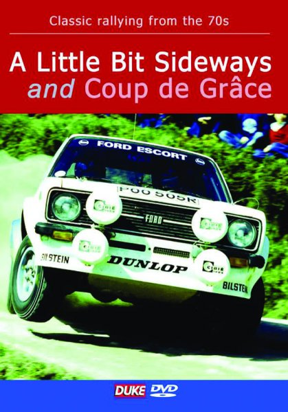 A little bit sideways and Coup de Grâce — Classic rallying in 1970s