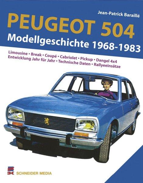 Peugeot 504 #2# Modellgeschichte 1968-1983