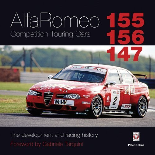 Alfa Romeo 155/156/147 Competition Touring Cars #2# The development and racing history