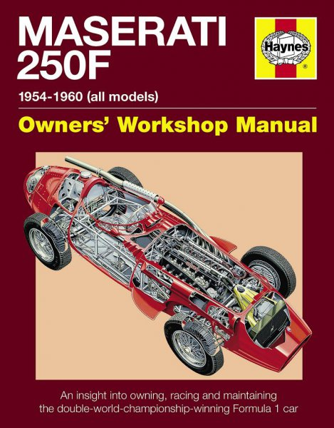 Maserati 250F · 1954-1960 (all marks) #2# Owners' Workshop Manual