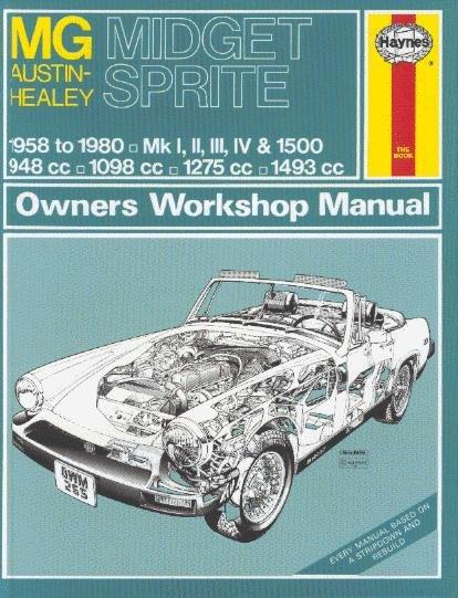 MG Midget & Austin-Healey Sprite — Haynes Owners Workshop Manual · Reparaturanleitung