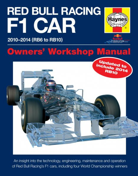 Red Bull Racing F1 Car 2010-2014 (RB6 to RB10) — Owners' Workshop Manual