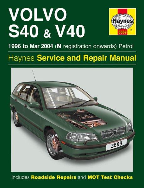 Volvo S40 & V40 · 1996-2004 #2# Haynes Service & Repair Manual · Reparaturanleitung