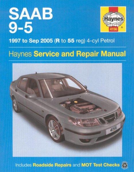 Saab 9-5 · 1997-2005 #2# Haynes Service & Repair Manual · Reparaturanleitung
