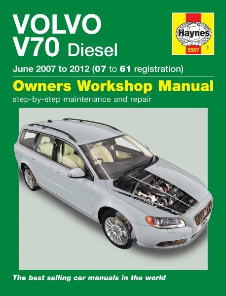 Volvo V70 Diesel · 2007-2012 — Haynes Owners Workshop Manual · Reparaturanleitung