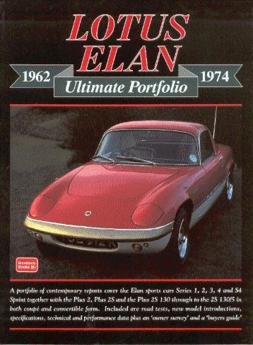 Lotus Elan 1962-1974 — Brooklands Ultimate Portfolio