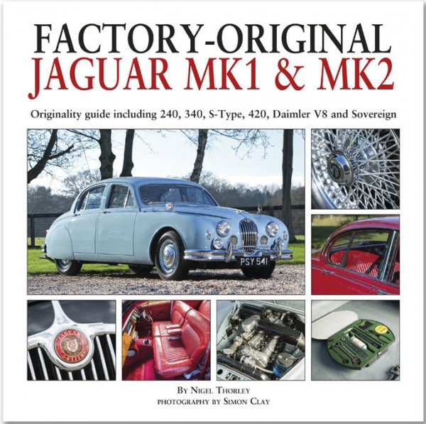 Factory-Original Jaguar Mk1 & Mk2 #2# Originality guide incl 240 340 S-Type 420 Daimler V8 Sovereign