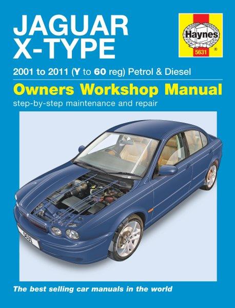 Jaguar X-Type · 2001-2011 #2# Haynes Owners Workshop Manual · Reparaturanleitung