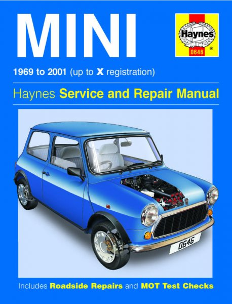 Mini · 1969-2001 #2# Haynes Service and Repair Manual · Reparaturanleitung