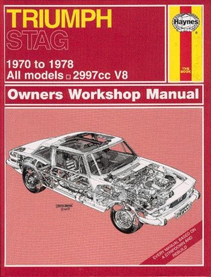 Triumph Stag #2# Haynes Owners Workshop Manual · Reparaturanleitung