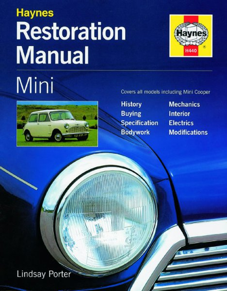Mini · 1959-2000 #2# Haynes Restoration Manual · Restaurierungs-Anleitung