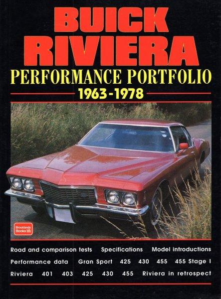 Buick Riviera 1963-1978 — Brooklands Performance Portfolio