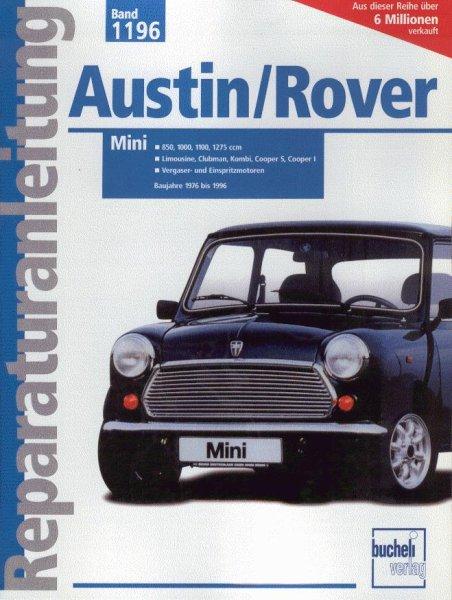 Austin/Rover Mini · 1976-1996 — Reparaturanleitung Band 1196