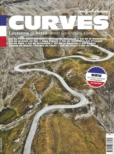 CURVES #1 · Frankreich — Lausanne - Nizza · Route des Grandes Alpes