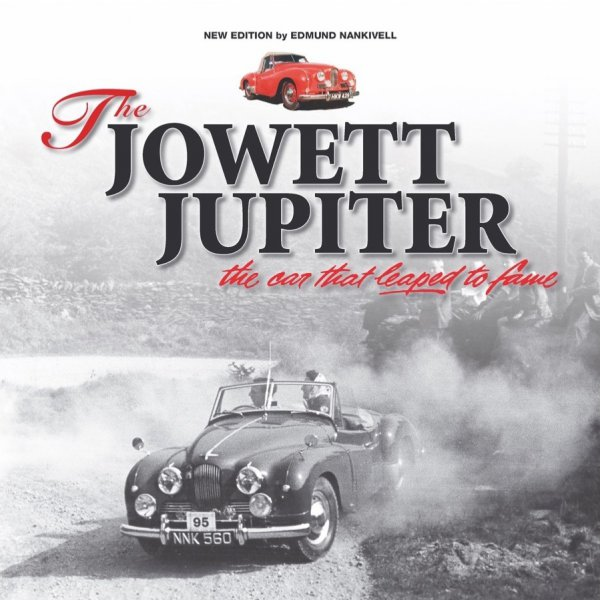 The Jowett Jupiter #2# the car that leaped to fame