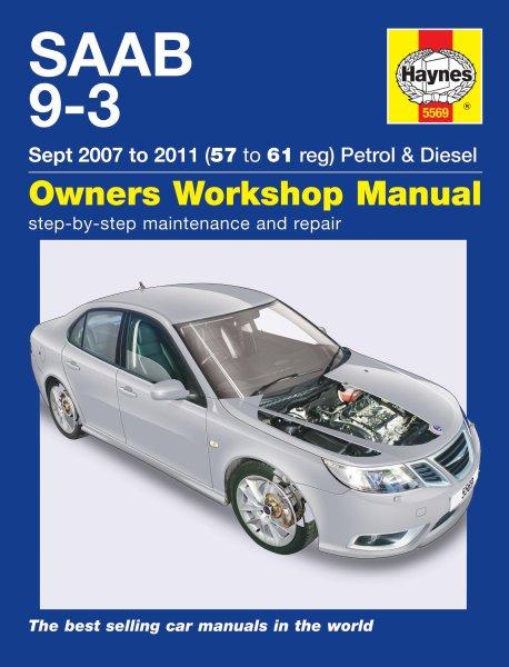 Saab 9-3 · 2007-2011 — Haynes Owners Workshop Manual · Reparaturanleitung