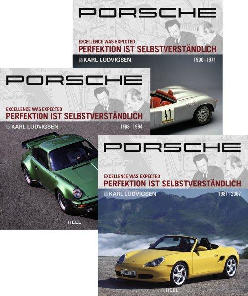 Porsche · Perfektion ist selbstverständlich #2# Band 1, 2 & 3: 1900-2007
