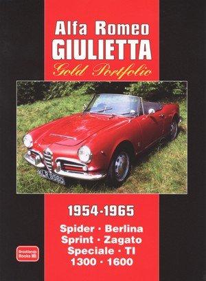 Alfa Romeo Giulietta 1954-1965 #2# Brooklands Gold Portfolio