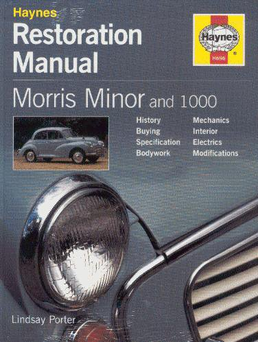 Morris Minor and 1000 #2# Haynes Restoration Manual · Restaurierungs-Anleitung