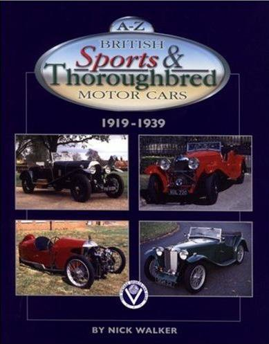 A-Z British Sports & Thoroughbred Motor Cars #2# 1919-1939