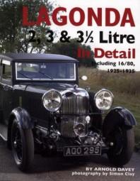 Lagonda 2, 3 & 3½ Litre In Detail #2# incl. 16/80 · 1925-1935
