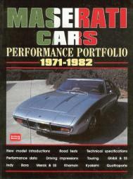 Maserati Cars 1971-1982 #2# Brooklands Performance Portfolio