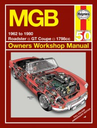 MGB (MG B & GT) #2# Haynes Owners Workshop Manual · Reparaturanleitung (farbige Sonderedition)