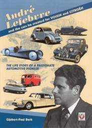 André Lefebvre #2# and the cars he created for Voisin and Citroen