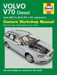 Volvo V70 Diesel · 2007-2012 #2# Haynes Owners Workshop Manual · Reparaturanleitung