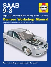 Saab 9-3 · 2007-2011 #2# Haynes Owners Workshop Manual · Reparaturanleitung